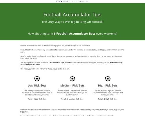 Football Accumulators –