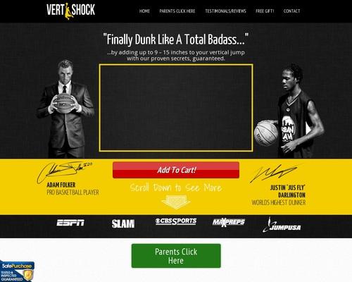 Vertical Jump Training: Vert Shock