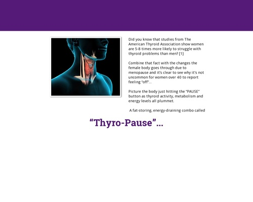 The Thyroid Factor – The 21 Days Thyroid Boosting Weight Loss System For Women
