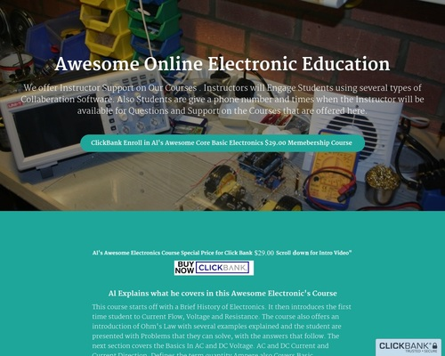 Awesome Online Electronic Education