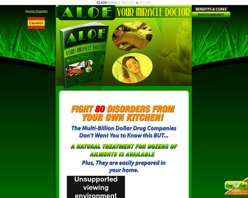 eBook Aloe – Your Miracle Doctor