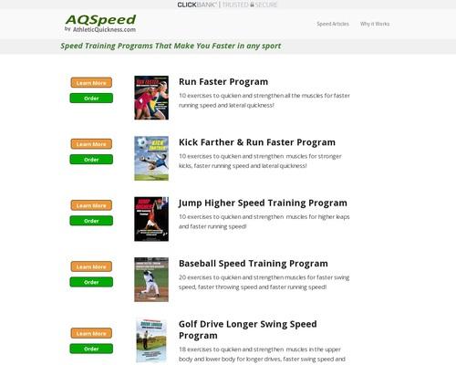Training Programs | Run Faster Speed Training