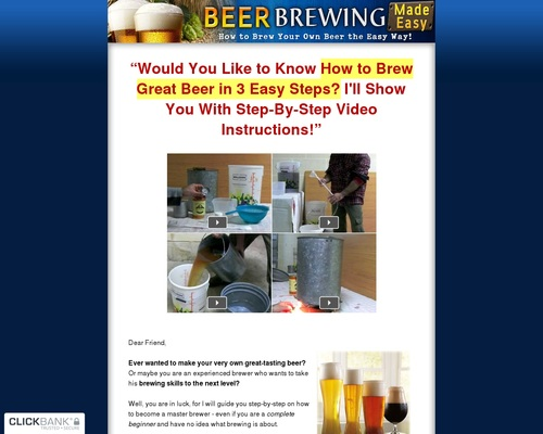 How to Brew Your Own Beer the Easy Way ?