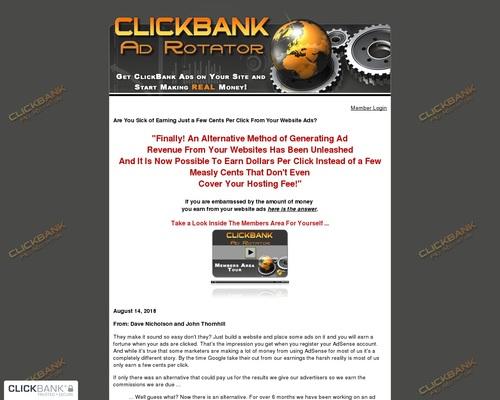 ClickBank Ad Rotator — ClickBank Ad Rotator