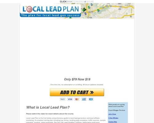 A local lead generation course for lead gen success