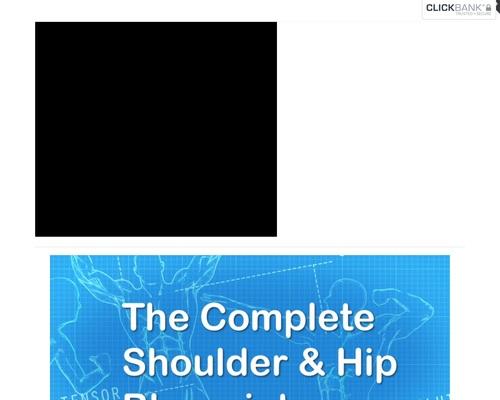 Even More Complete Shoulder and Hip Blueprint – Complete Shoulder & Hip Blueprint