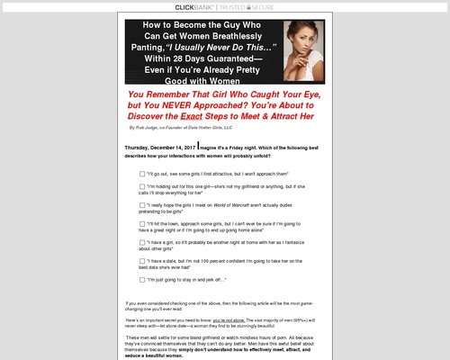 Date Hotter Girls: The 4 Elements of Game eBook