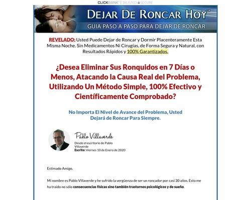 Dejar De Roncar Hoy. 100% De Comisión!