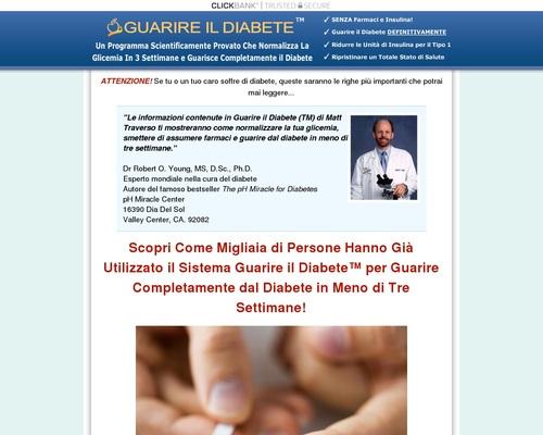 GUARIRE IL DIABETE – La Cura del Diabete