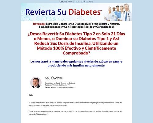 Revierta Su Diabetes Tipo 2 Y Pre-diabetes, Controle Diabetes Tipo 1!