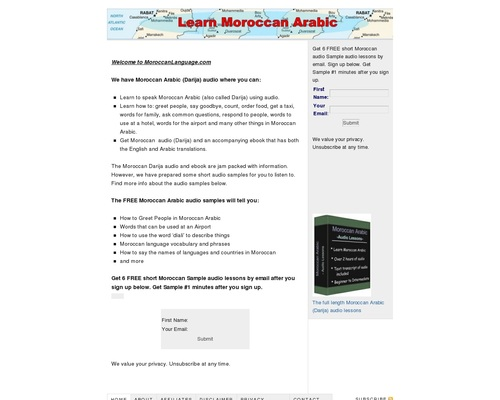 Moroccan Arabic Language audio – learn the Moroccan Darija dialect