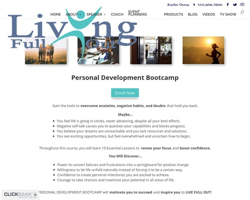 Personal Development Bootcamp | Living Full Out