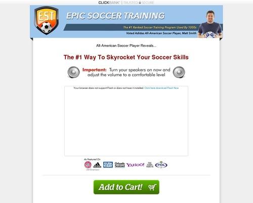Epic Soccer Training – Improve Soccer Skills