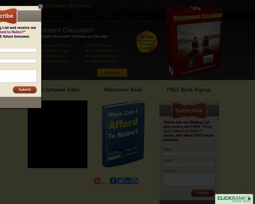 Retirement Calculator Software