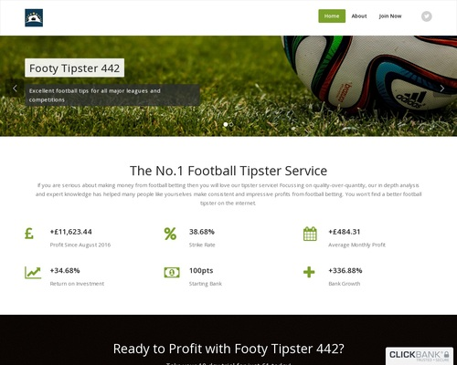 Footy Tipster 442 – Expert Football Tips From All Major Leagues & Competitions