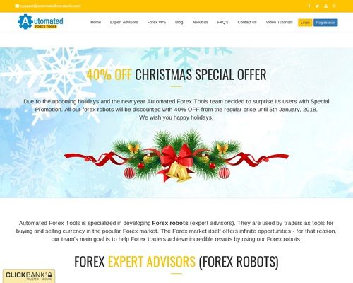 Best Forex Robots from Automated Forex Tools