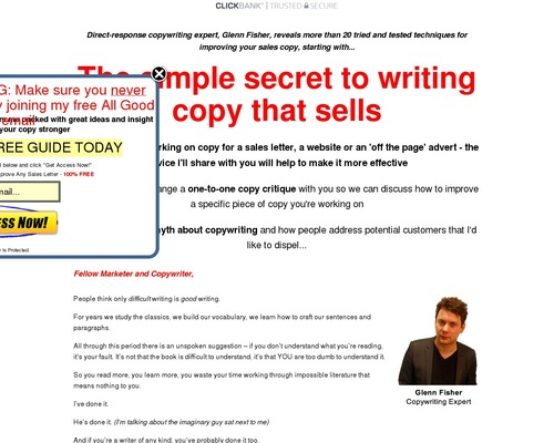 Write Better Copy: Order Today – All Good Copy