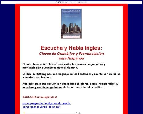 Inglés Para Latinos, English For Hispanos, Pronunciar Inglés, ESL