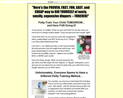 potty training your child in less than 30 minutes!