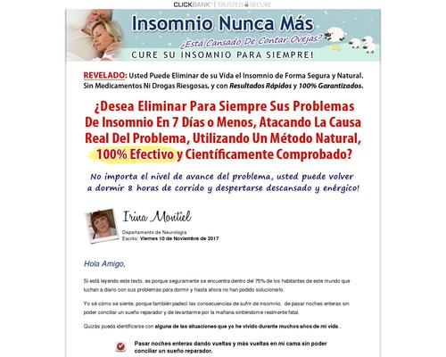 Insomnio Nunca Mas – Alivio Real Esta Misma Noche!