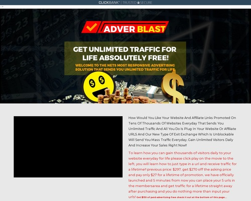 Adverblast Advertising Earn Up To 5 Through CB Per Customer