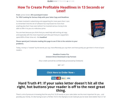 Headline Creator Pro Download Page — KD Launchpad – from author to Publishing Empire!