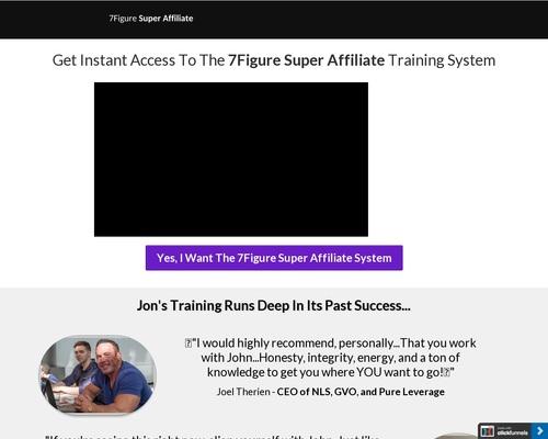 7Figure Super Affiliate Training System