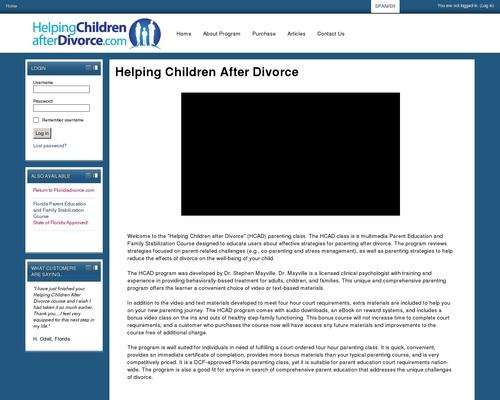 Helping Children After Divorce