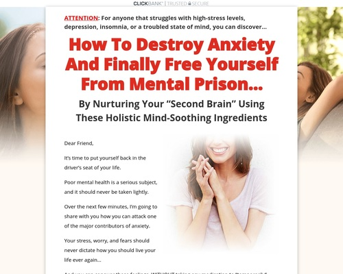 The Anti-Anxiety Recipe Plan