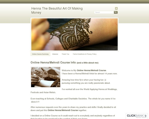 Henna The Beautiful Art Of Making Money – Henna Courses and Mehndi Courses Online.