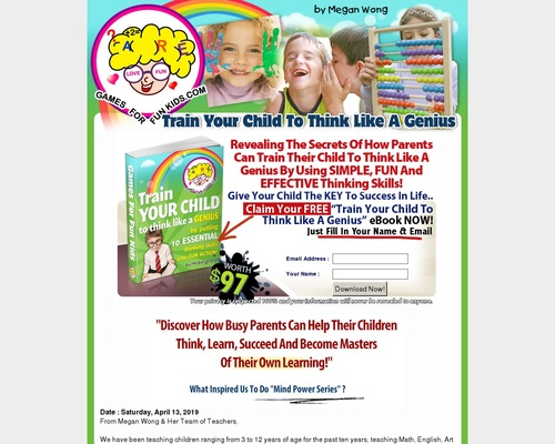 Games For Fun Kids | Train Your Child Think Like A Genius