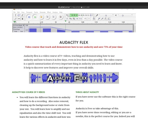 How to use audacity Get 750 SFX