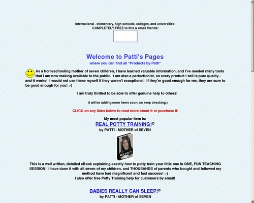 PATTI'S PAGES for Products by Patti