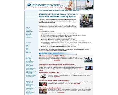 Information Marketer's Zone