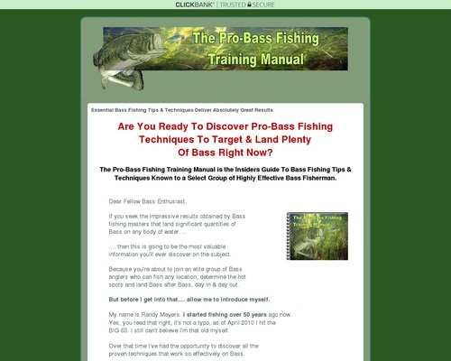 Bass Fishing Tips & Techniques