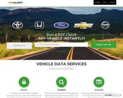 VinAlert Car History Reports