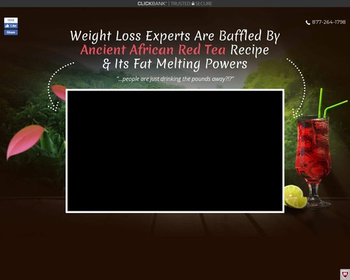 Mom Melts Away 41 lbs Of Fat By Drinking A Delicious African Red Tea?!
