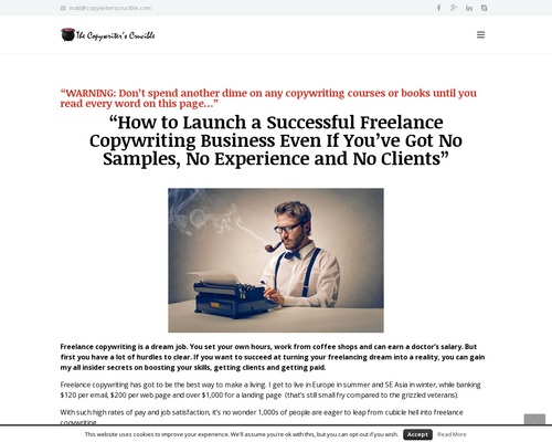 The Copywriter's CrucibleHow to Become a Freelance Copywriter without Experience