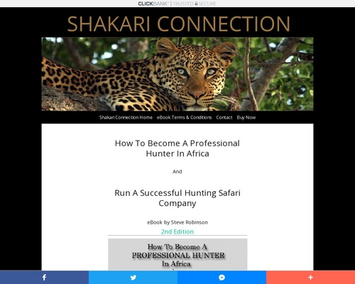 How To Become A Professional Hunter In Africa | eBook