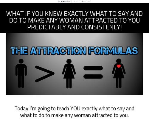 The Attraction Formulas