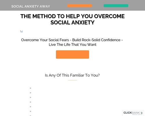 Social Anxiety Away Method Presentation 97 – socialanxietyaway.com