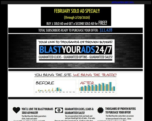 New BLAST YOUR ADS 24/7 – Get 5000+ Clicks – 900+ Signups – Sales Guaranteed!