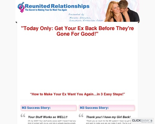 How to Get Your Ex Back?