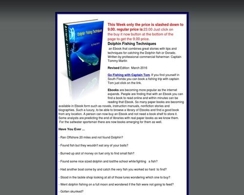 Bull Dolphin – Dolphin FishingTechniques