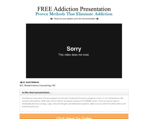 Truth Of Addiction Help With Addiction 75% Commission!