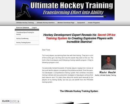 Ultimate Hockey Training: Transforming Effort into Ability!