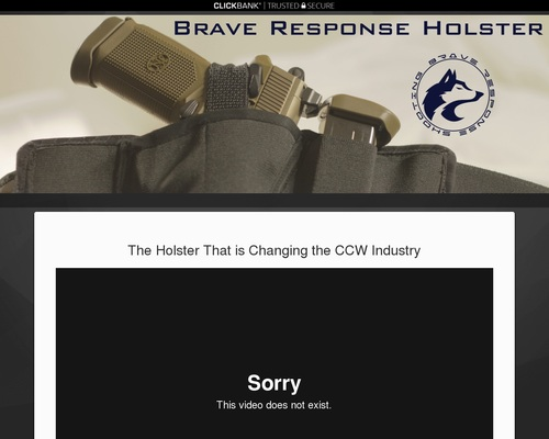 Top Concealed Carry Holster – Brave Response