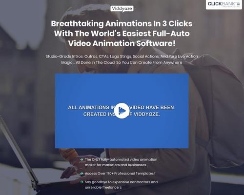 3D Animation and Video Software   Viddyoze
