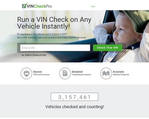 Vin Check Pro – A Product Created For Affiliates By Affiliates.