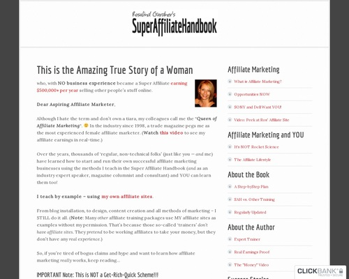Super Affiliate: How I Made 6,797 In One Year